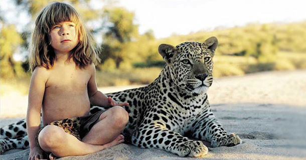 Real Life Mowgli, A Girl Who Was Raised In The African Wildlife.